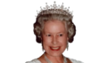 icon Queen Elizabeth II.