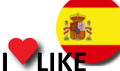 Popularidad España